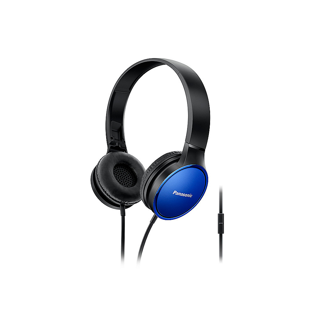 Panasonic RP-HF300ME-A On-Ear Kopfhörer blau