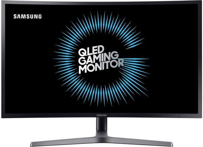 "Samsung C27HG70 Curved Monitor LED 68,6cm (27"") WQHD 2xHDMI/DP 1ms VA-Panel"