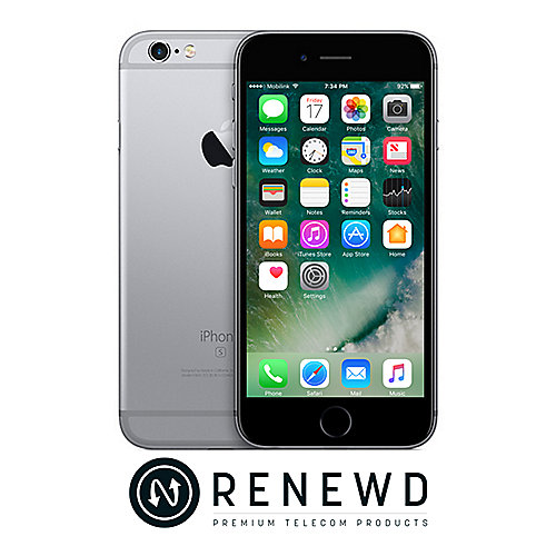 Apple iPhone 6S 16 GB Space Grau Renewd