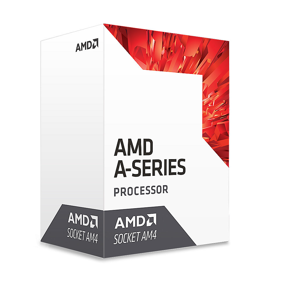 AMD A10 9700 Bristol Ridge (4x 3,5/3,8 GHz) 2MB R7 Sockel AM4 CPU BOX