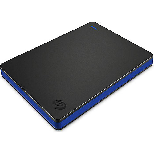 Seagate Game Drive für PS4 Portable Festplatte USB3.0 – 2TB 2.5Zoll schwarz/blau   0763649119372