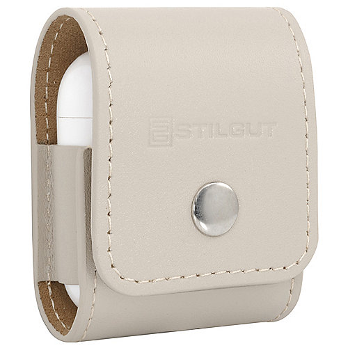 StilGut AirPod Case creme nappa