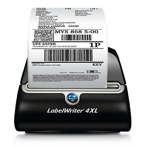 DYMO LabelWriter 4XL Etikettendrucker Thermodirekt 300 x 300 dpi 104mm USB | 3501170904954