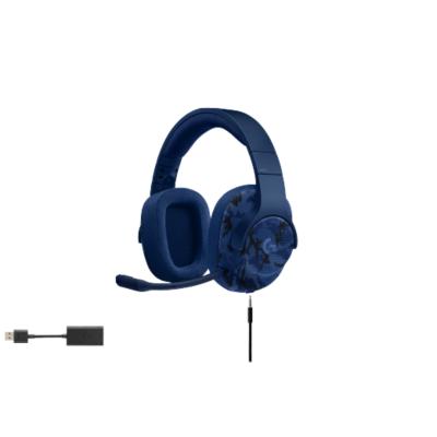 Logitech Gaming Logitech G433 7.1 Surround Sound Gaming Headset Blau Camo 981-000688 | 5099206074026