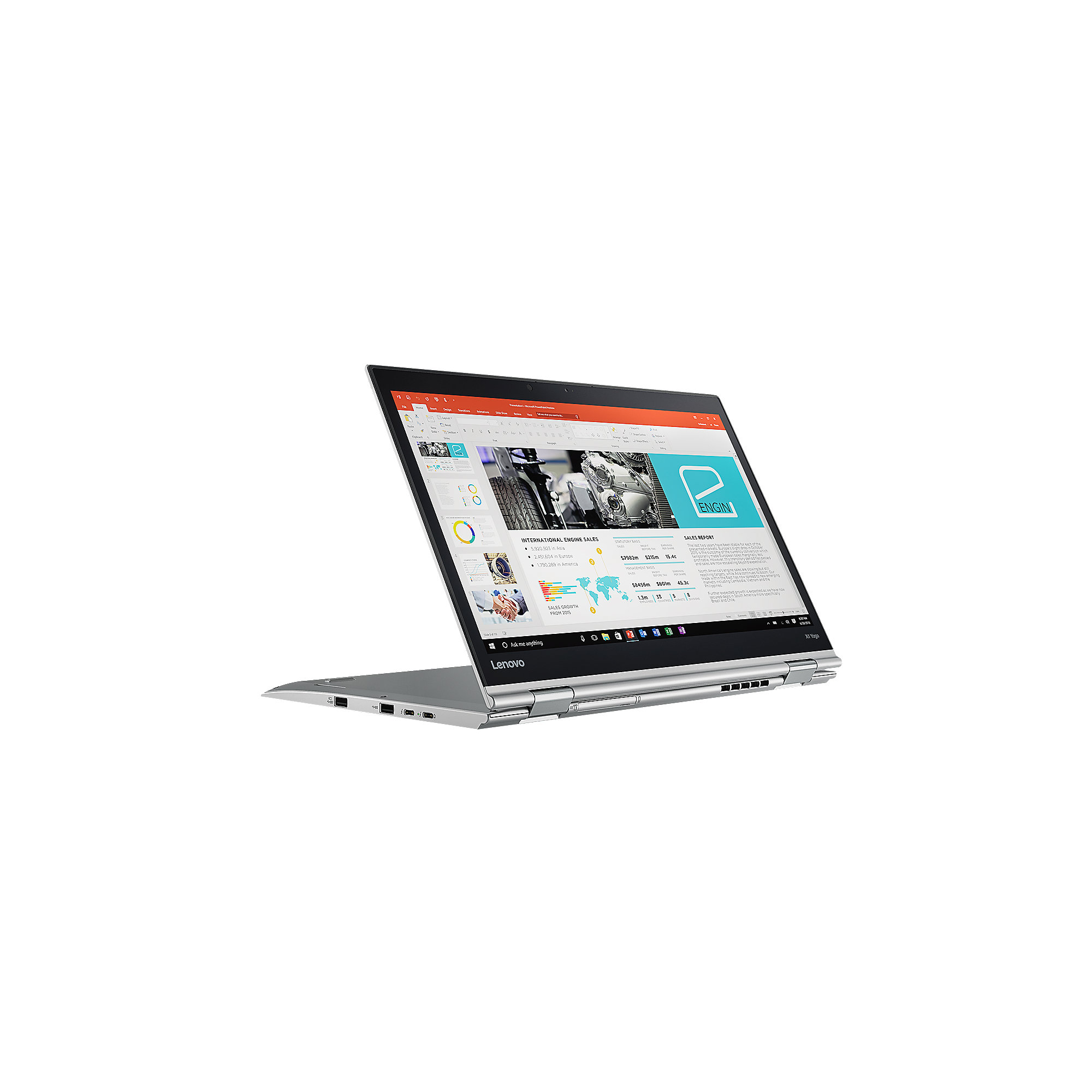 "Lenovo TP X1 Yoga 20JF0027GE i7-7500U 16GB/512GB SSD 14""WQHD OLED LTE Touch W10"