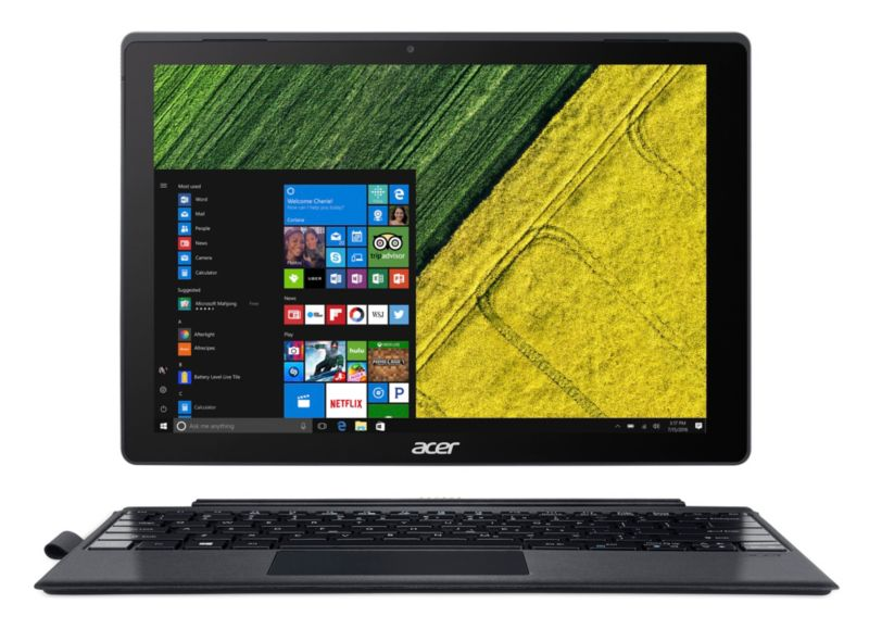 "Acer Switch 5 SW512-52-5819 i5-7200U 8GB/256GB PCIe SSD 12"" QHD 2in1 Touch W10"