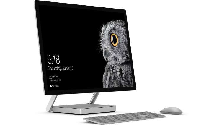 "Microsoft Surface Studio i5-6440HQ 8GB/1TB SSD 28"" UHD GTX 965M Touch W10P"