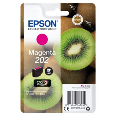 Epson  C13T02F34010 Druckerpatrone 202 Magenta ca. 300 Seiten | 8715946646244
