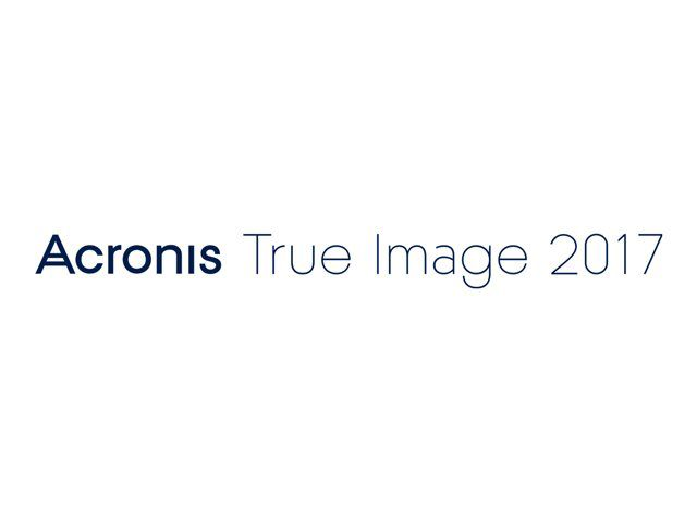 Acronis True Image 2017 3 PC ESD - Promo