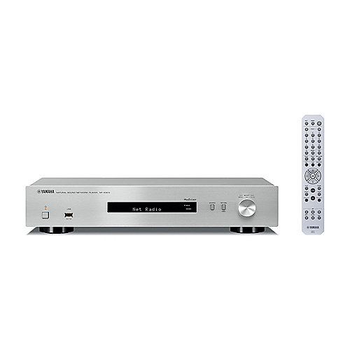 Yamaha NP-S303 Multiroom MusicCast Streaming Client Bluetooth Airplay silber