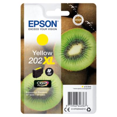 Epson  C13T02H44010 Druckerpatrone 202XL Gelb ca. 650 Seiten   8715946646367