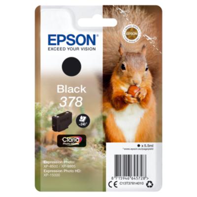 Epson  C13T37814010 Druckerpatrone 378 Schwarz ca. 240 Seiten | 8715946645728