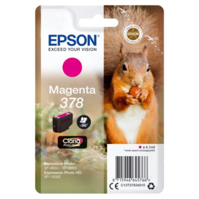 Epson  C13T37834010 Druckerpatrone 378 Magenta ca. 360 Seiten   8715946645766