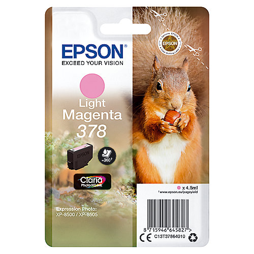 Epson C13T37864010 Druckerpatrone 378 Light Magenta