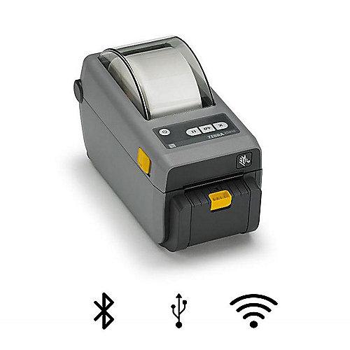 ZEBRA ZD410 Thermo-Etikettendrucker USB LAN BT Cutter | 5712505793022