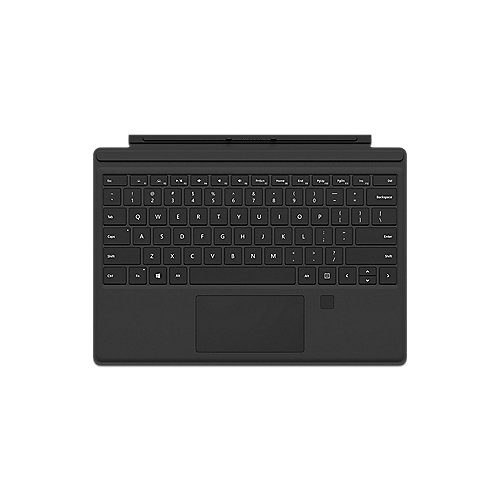 Microsoft Surface Pro 4 Type Cover mit Fingerprint ID schwarz