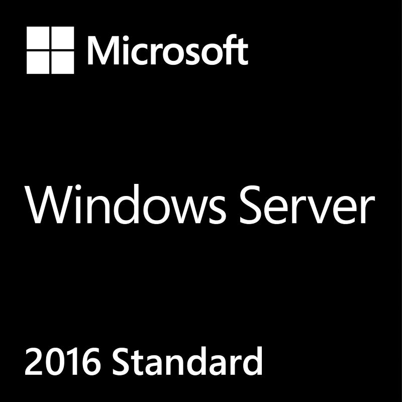 Windows Server 2016 Standard 16 Core 64Bit DE COEM DVD