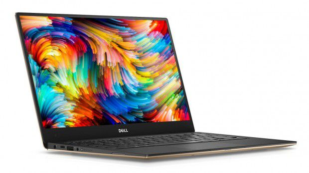 "DELL XPS 13 9360-i7-7500U 8GB/256GB SSD 13"" Touch QHD+Intel HD620 W10 Rose Gold"