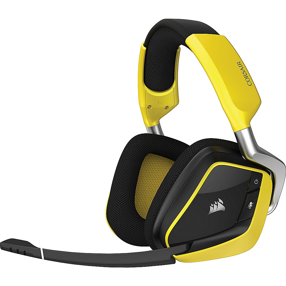 Corsair Gaming VOID PRO kabelloses Dolby 7.1 Gaming Headset gelb