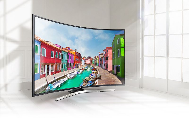 "Samsung UE55MU6279 138cm 55"" 4K UHD Curved DVB-T2HD/C/S SMART TV PQI 1400"