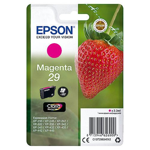 Epson 29 Original Druckerpatrone Magenta T2983