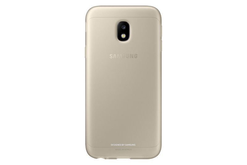 Samsung EF-AJ330 Jelly Cover für Galaxy J3 (2017) gold