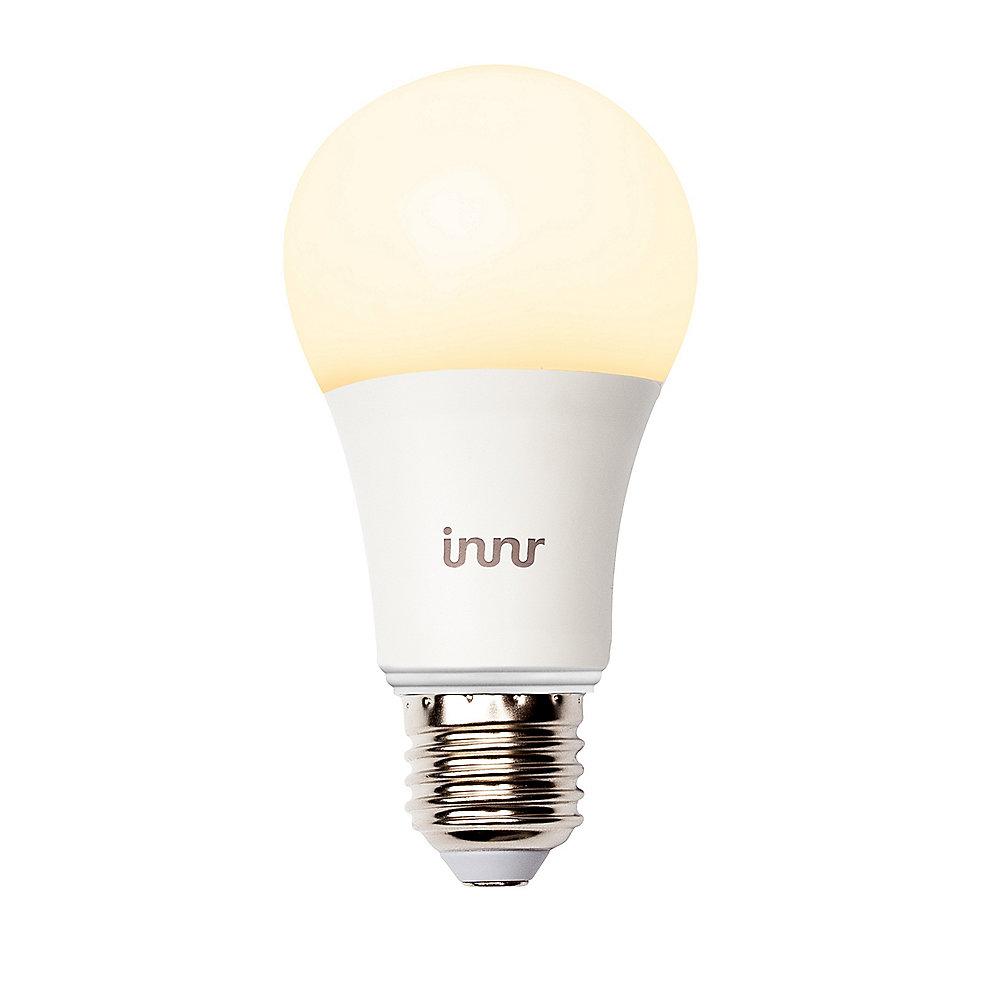 Innr Smarte LED Lampe 9W (60W) E27 Matt Warmweiß Dimmbar ...