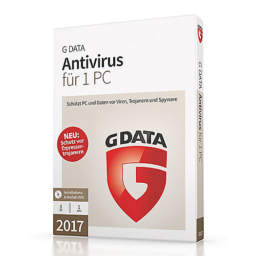 G DATA Antivirus 2017 1 PC (Minibox)