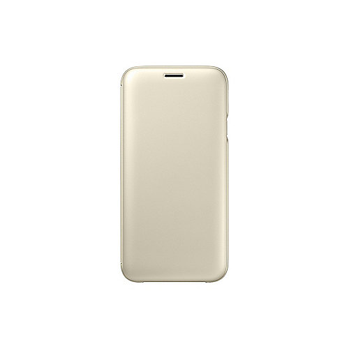 Samsung EF-WJ730 Wallet Cover für Galaxy J7 (2017) gold