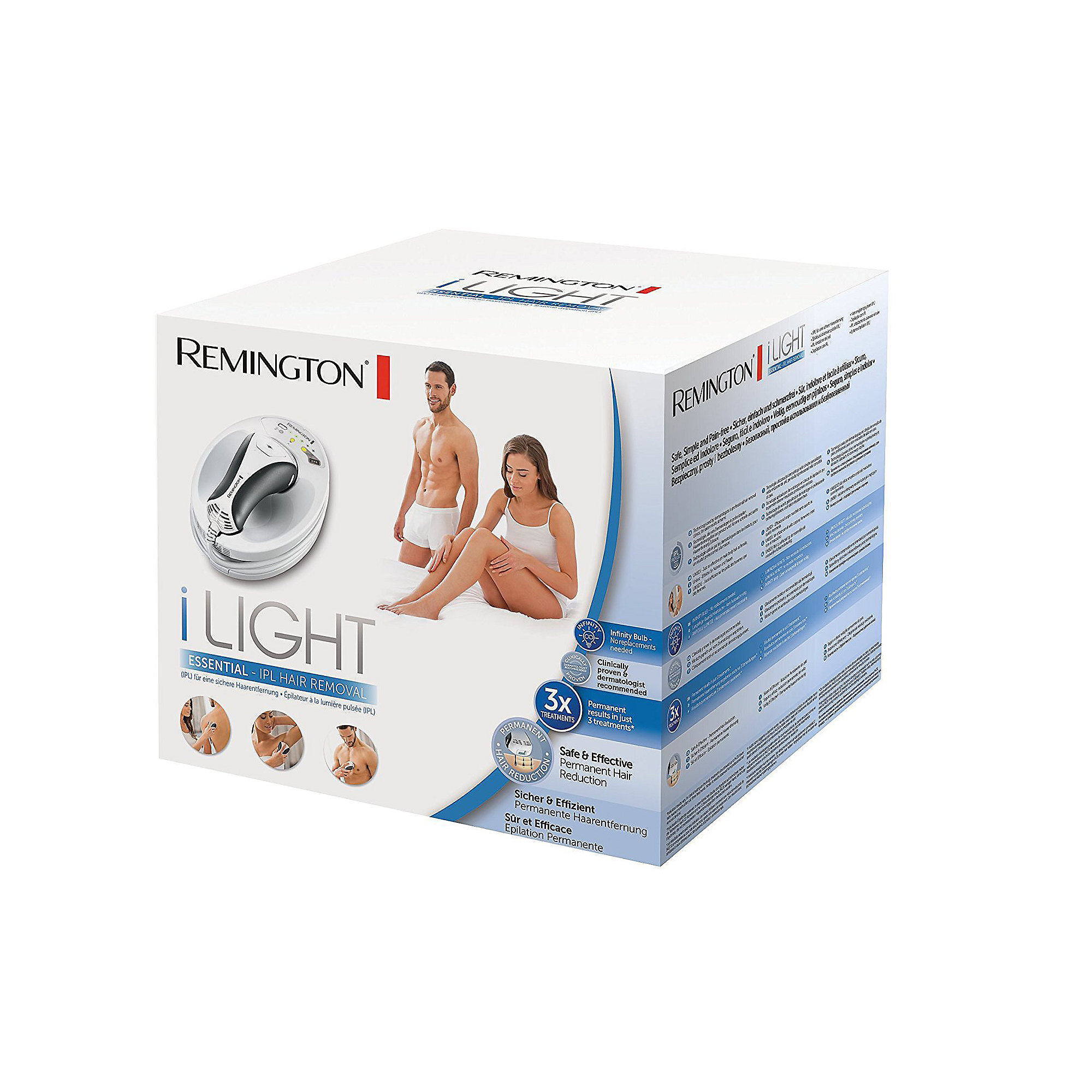 Remington IPL6250 i-Light Essential IPL Haarentfernungssystem