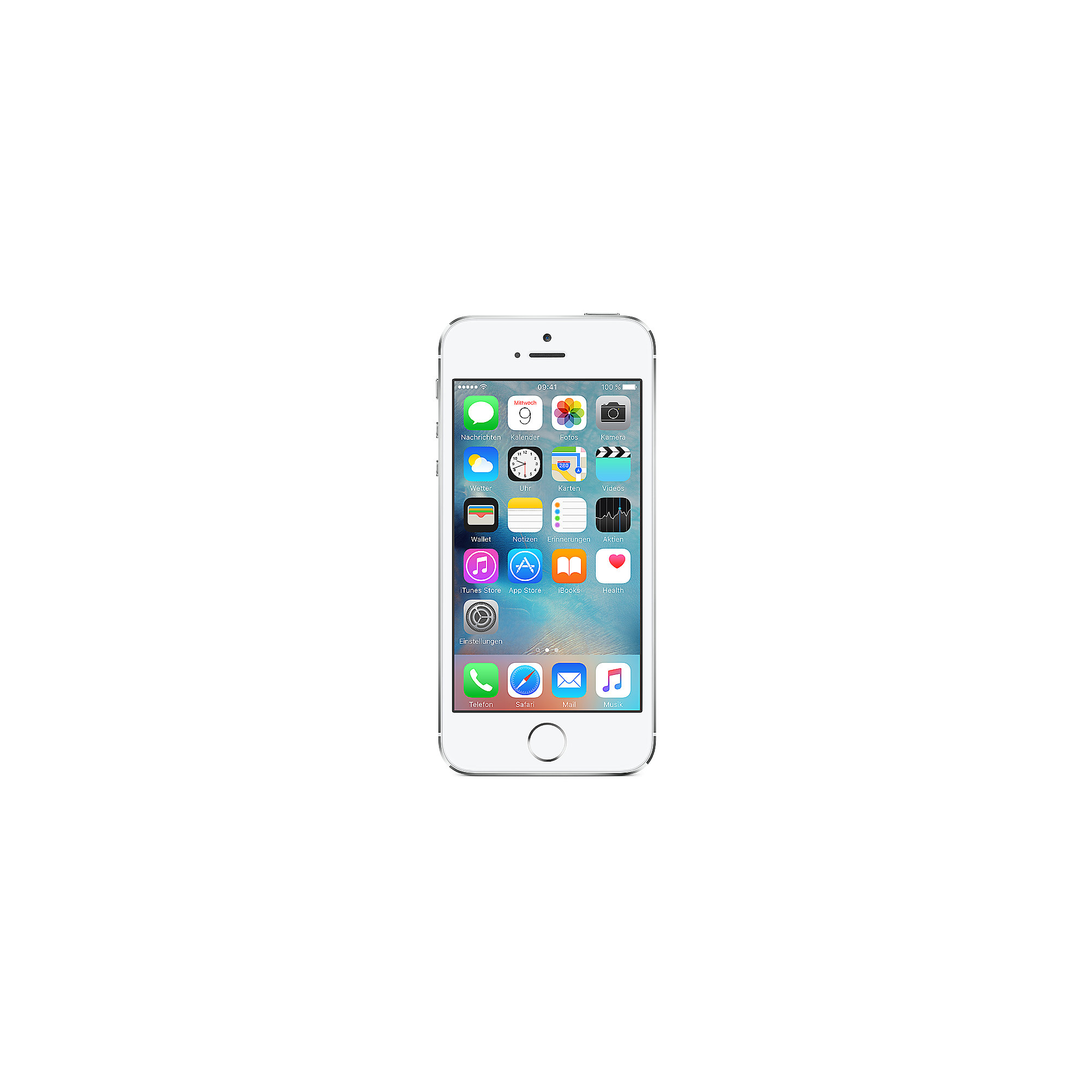 Apple iPhone 5s 16 GB silber 2ND refurbished