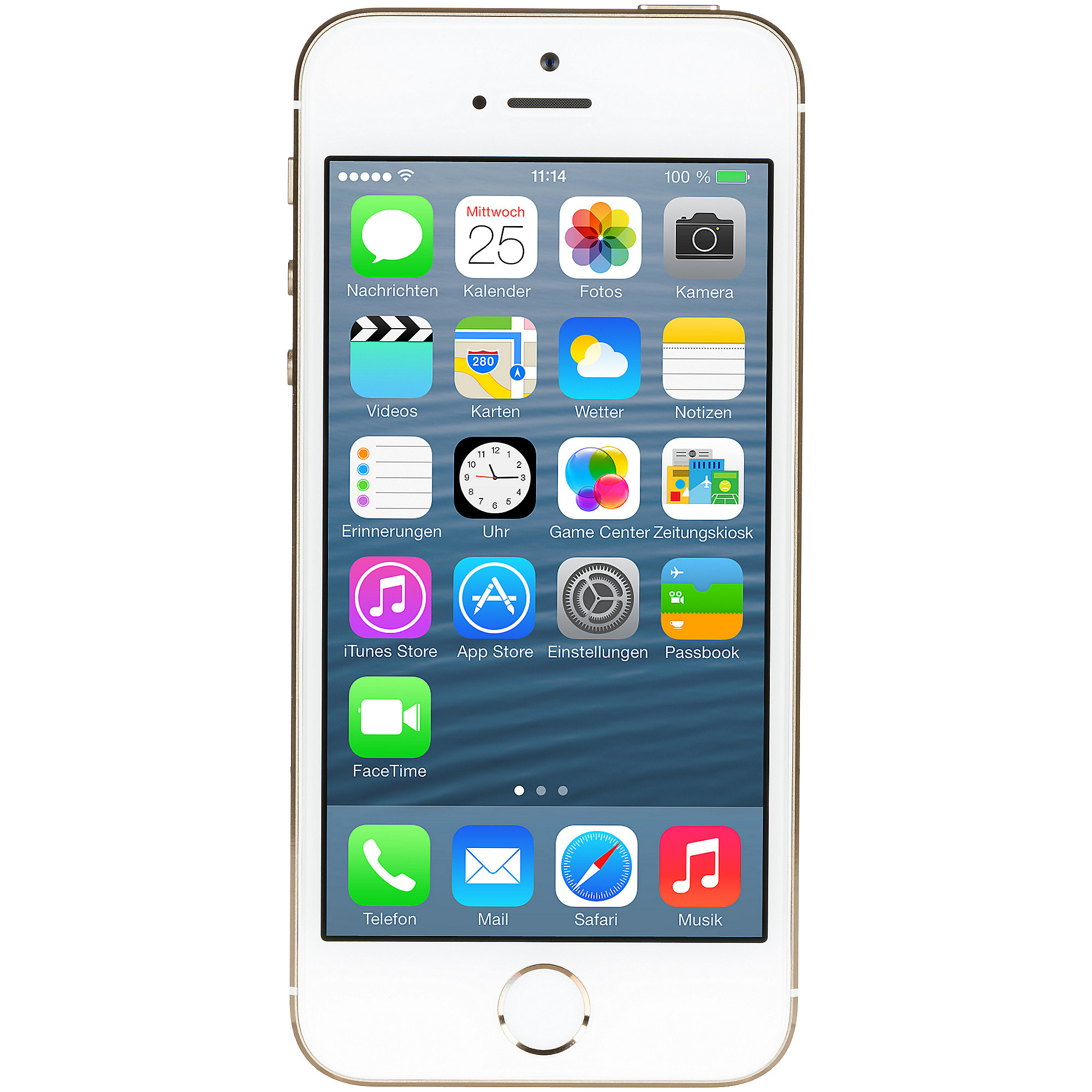 Apple iPhone 5s 16 GB gold 2ND refurbished