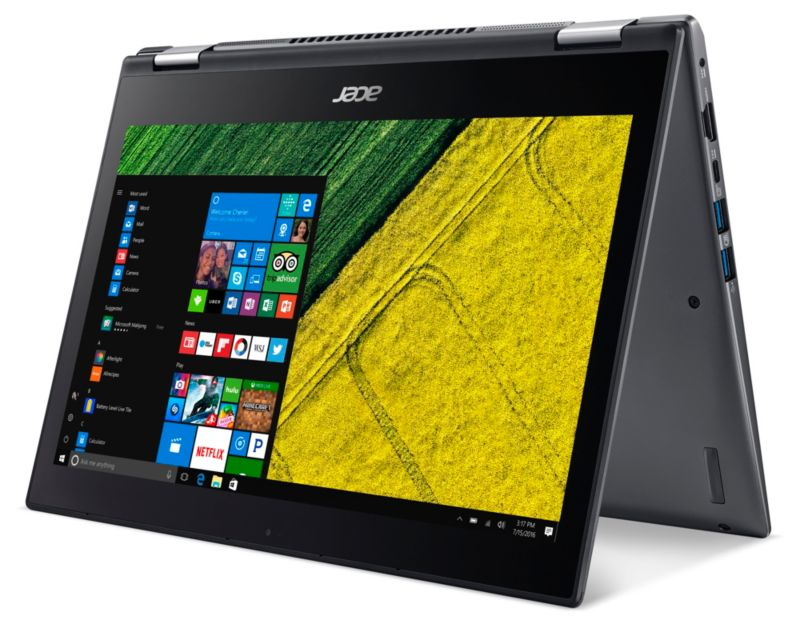 "*Acer Spin 5 SP513-52N-54SF1 i5-8250U 8GB/256GB SSD 15"" FHD 2in1 Touch W10 FC"