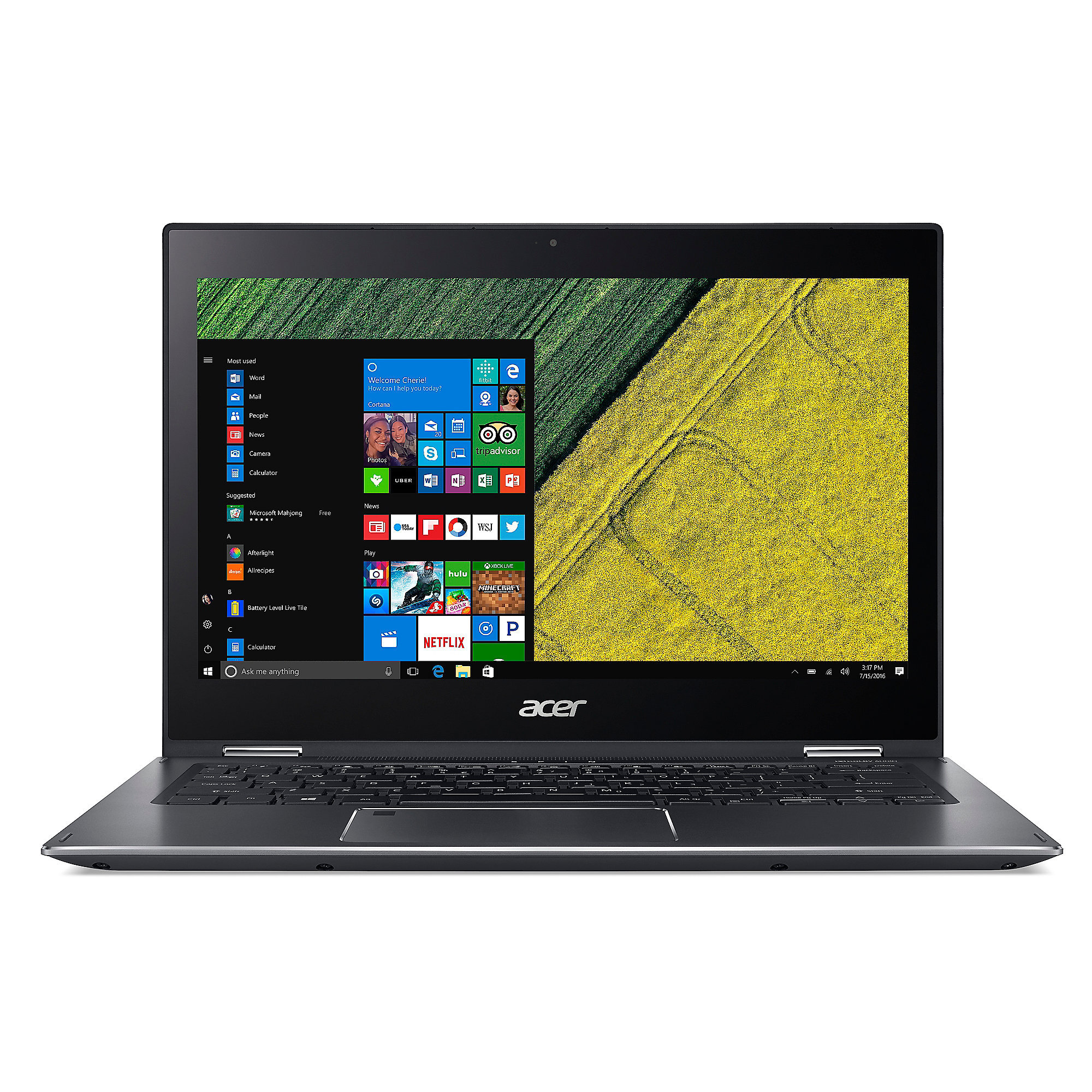 "*Acer Spin 5 SP513-52N-36P7 i3-7130U 8GB/256GB SSD 15"" FHD 2in1 Touch W10"