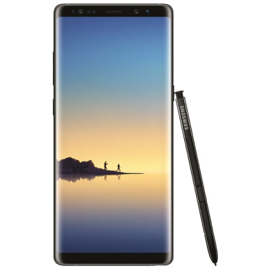 Samsung  GALAXY Note8 midnight black N950F 64 GB Android Smartphone | 8806088926858