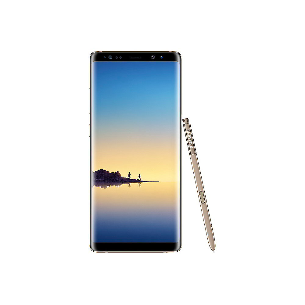Samsung GALAXY Note8 maple gold N950F 64 GB Android Smartphone ++ ...