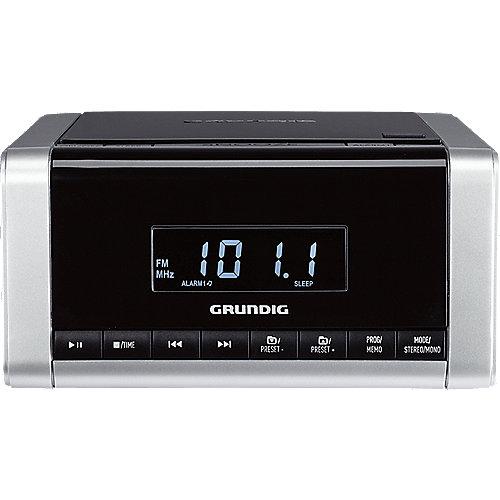 CCD 5690 SPCD CD-Uhrenradio schwarz/silber   4013833832027
