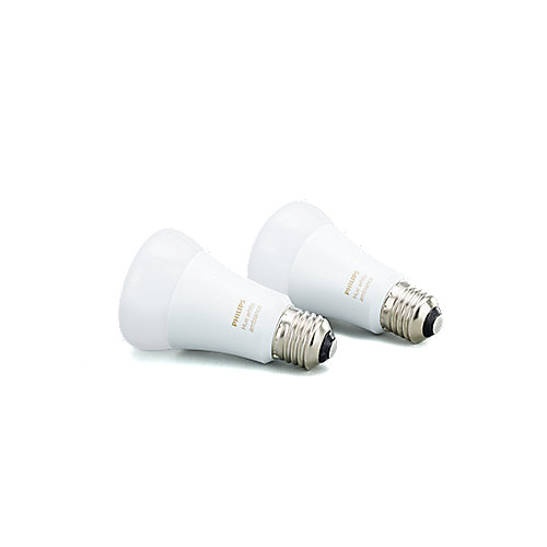 Philips Hue White Ambiance LED E27 Doppelpack 9,5W