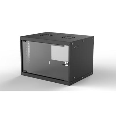 Intellinet  19″ Wandverteiler 353 (H) x 540 (B) x 560 (T) mm 6HE FP schwarz | 0766623714785
