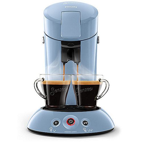 Original HD6554/70 Padmaschine mit Kaffee-Boost hellblau | 8710103822790