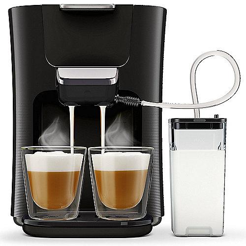Senseo Latte Duo HD6570/60 Padmaschine mit Aroma-Boost, Schwarz | 8710103823247