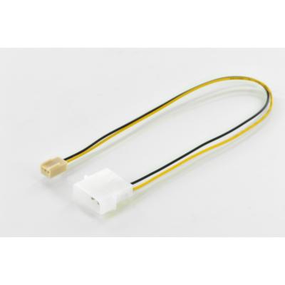 ASSMANN  Lüfter Stromkabel 0,3m 4-pin Molex zu IDE 3-pin Molex St./Bu. | 4016032382195
