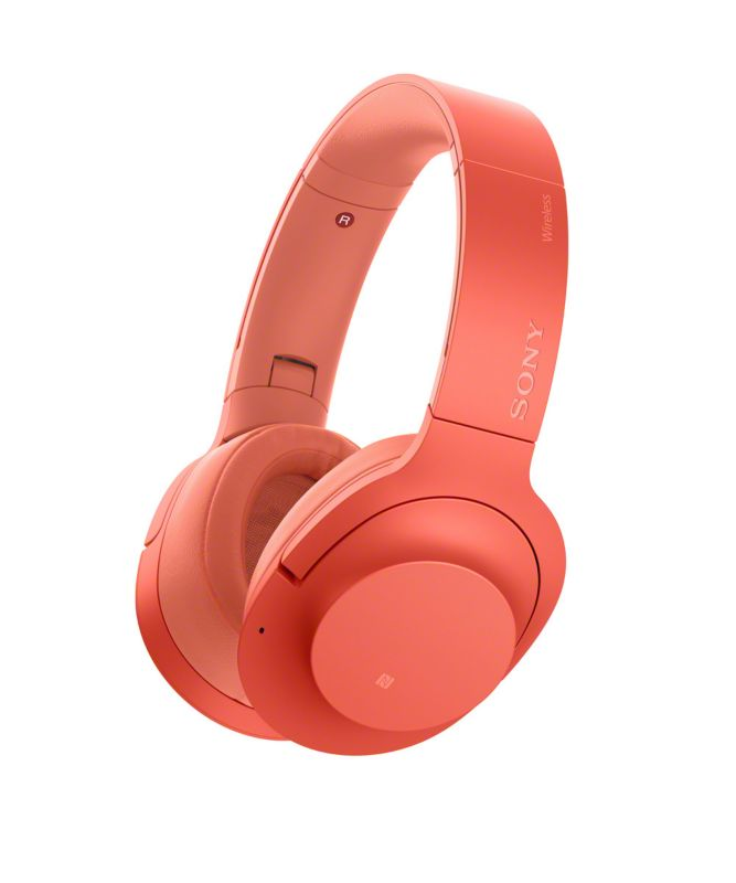 Sony WH-H900NR Bluetooth Noise Cancelling Over Ear Kopfhörer rot