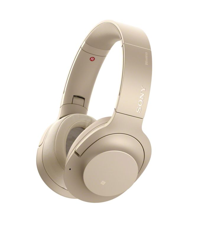 Sony WH-H900NN Bluetooth Noise Cancelling Over Ear Kopfhörer gold