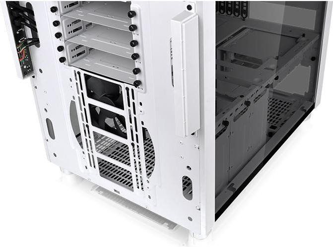 Thermaltake Core X5 Snow Ed. ATX Gehäuse mit Tempered Glas Sichtfenster