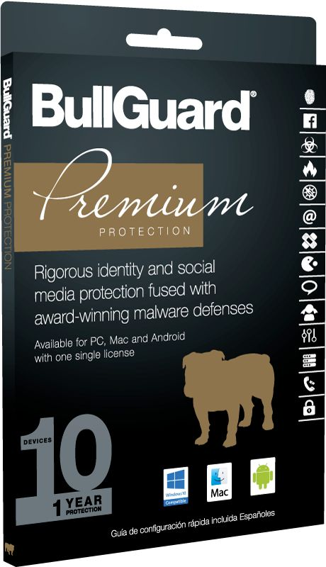 BullGuard Premium Protection 2017 10 Device 1 Jahr MiniBox