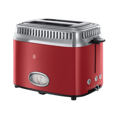 Russell Hobbs  21680-56 Retro Ribbon Red Toaster | 4008496892518