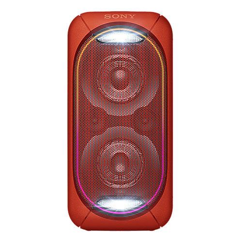 GTK-XB60 Bluetooth-Lautsprecher (NFC, Akku) rot Leuchteffekt Party-Chain | 4548736059962