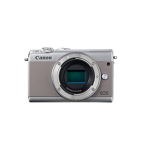 Canon EOS M100 Gehäuse Systemkamera grau