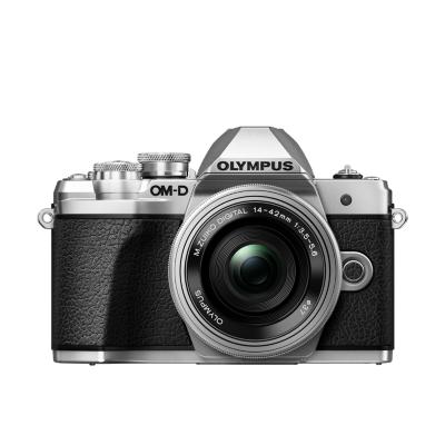 Olympus  OM-D E-M10 Mark III Kit 14-42mm EZ Pancake Systemkamera silber | 4545350051419